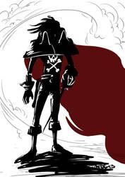 Captian Harlock sotd 013 by ADE-doodles