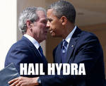 Bush Obama Hail Hydra by ADE-doodles