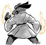 SOTD Hong Kong Phooey 015 Sketch by ADE-doodles