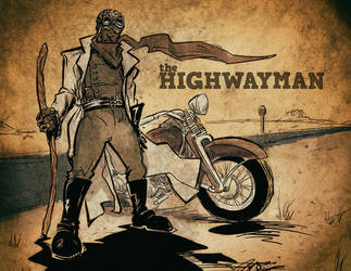 the Highwayman -color- by ADE-doodles