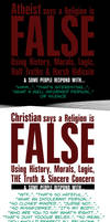 Atheist says... but when a Christian says by ADE-doodles