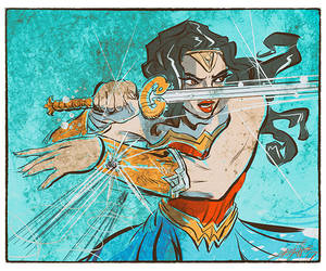 Wonder Woman SOTD --17-72 by ADE-doodles