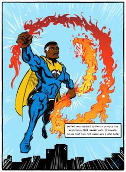 Mythic Legacy Hero Comic