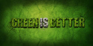 green is better
