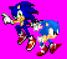 Sonic Generations Pose by marvinvalentin07