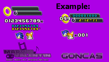 Sonic 4 Epi 2 Hud Sprite Ver 2 By Marvinvalentin07 On Deviantart