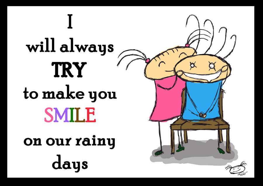 I will make you smile