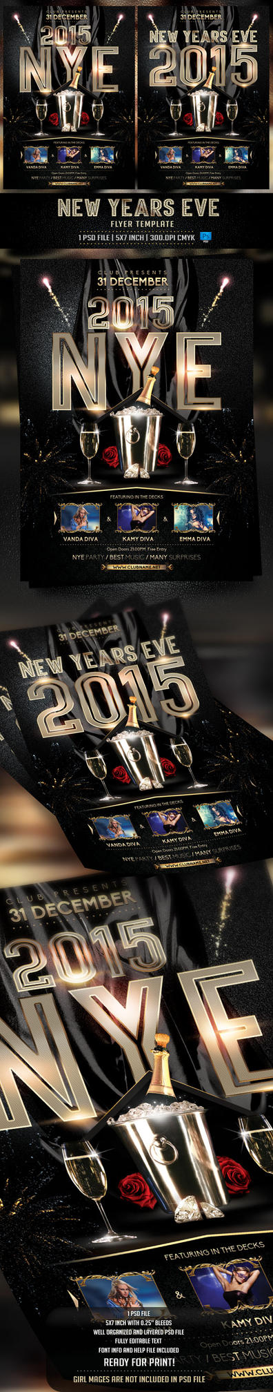 2015 Flyer Template by BriellDesign