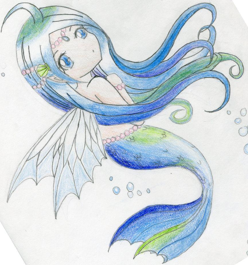 Mermaid Fairy by BlueRoseChan
