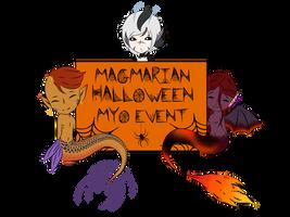 Magmarian Halloween Myo Event by AliceMorte