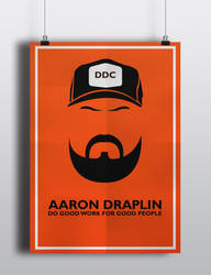 Aaron draplin poster