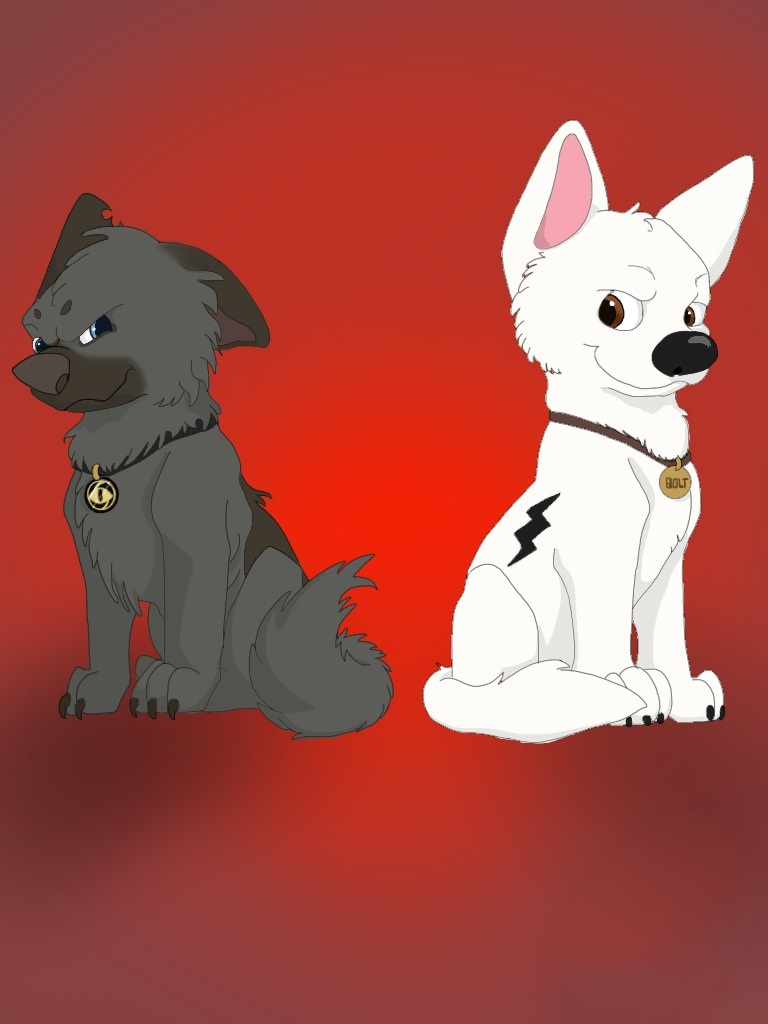 The Gallery For gt Baby Bolt Dog
