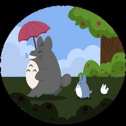 My Neighbor Totoro by sheeparoos