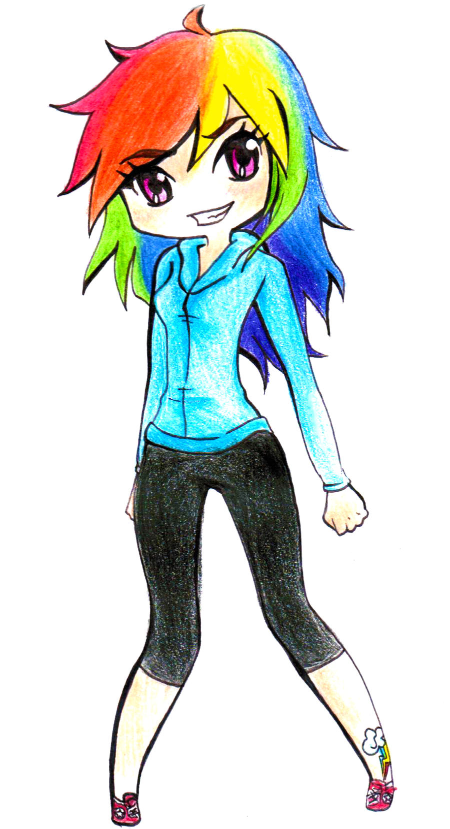 Rainbow Dash by Melody-in-the-Air on DeviantArt