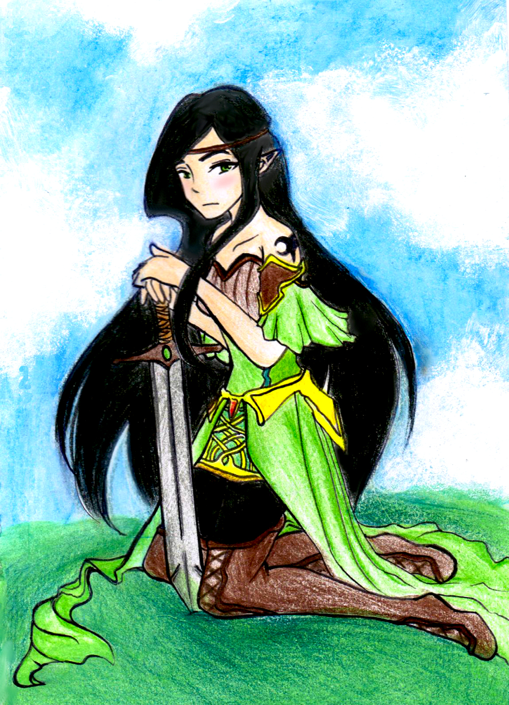 DeviantArt: More Like Eragon and Arya: Loving Gaze by Melody-in ...