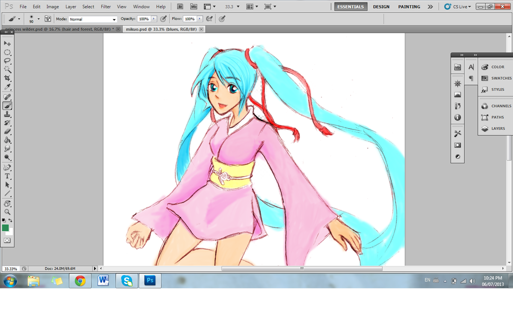 Mikuwhoo by Melody-in-the-Air