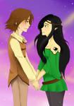 Eragon and Arya: Loving Gaze