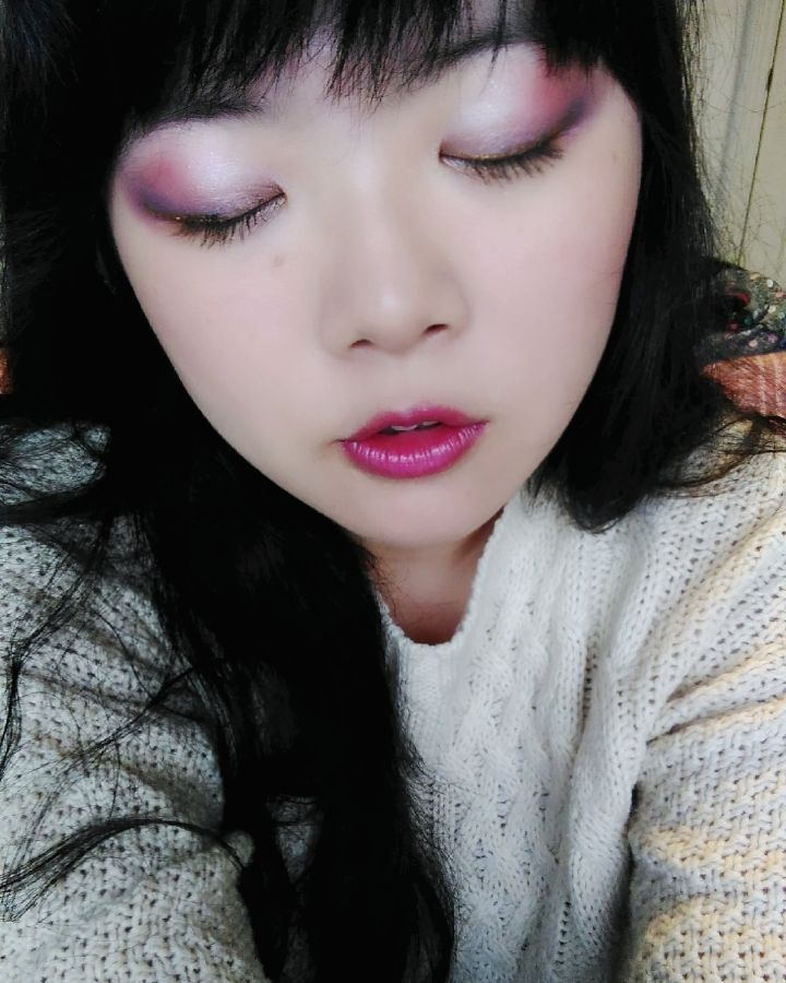 Berry Toned Makeup Look by Melody-in-the-Air