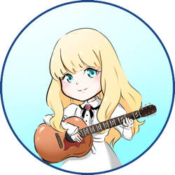 Carole and Tuesday: Tuesday Button