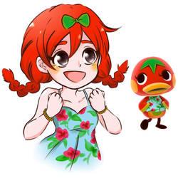 Humanized Ketchup - Animal Crossing New Horizons