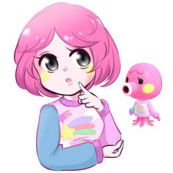 Marina Humanized - Animal Crossing New Horizons