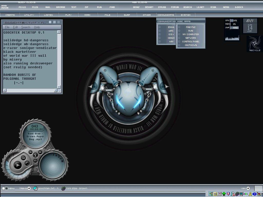 Goochtek desktop v1 by goochtek