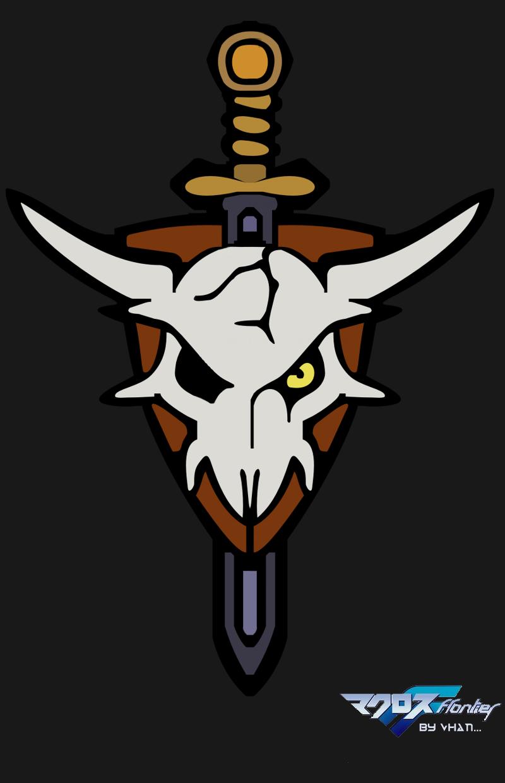 Macross Frontier Skull Logo