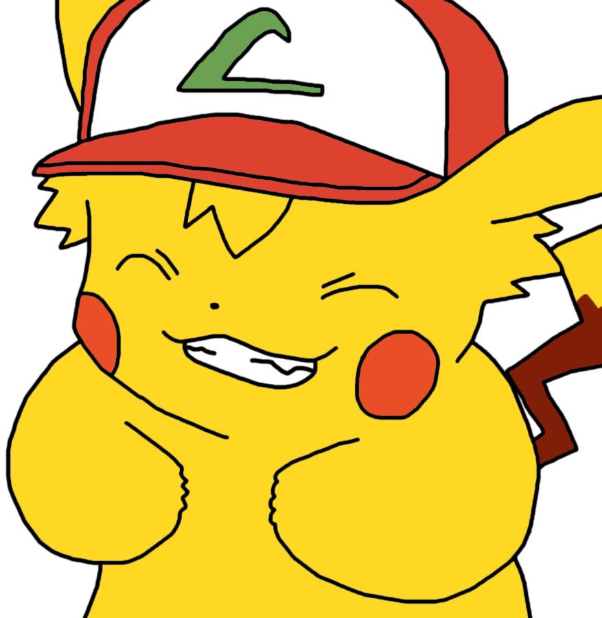 Ash As Pikachu by GEORDINHO