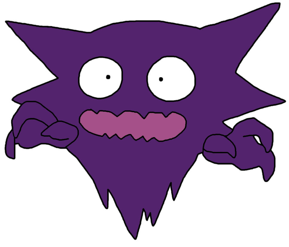 Haunter Funny Face by GEORDINHO