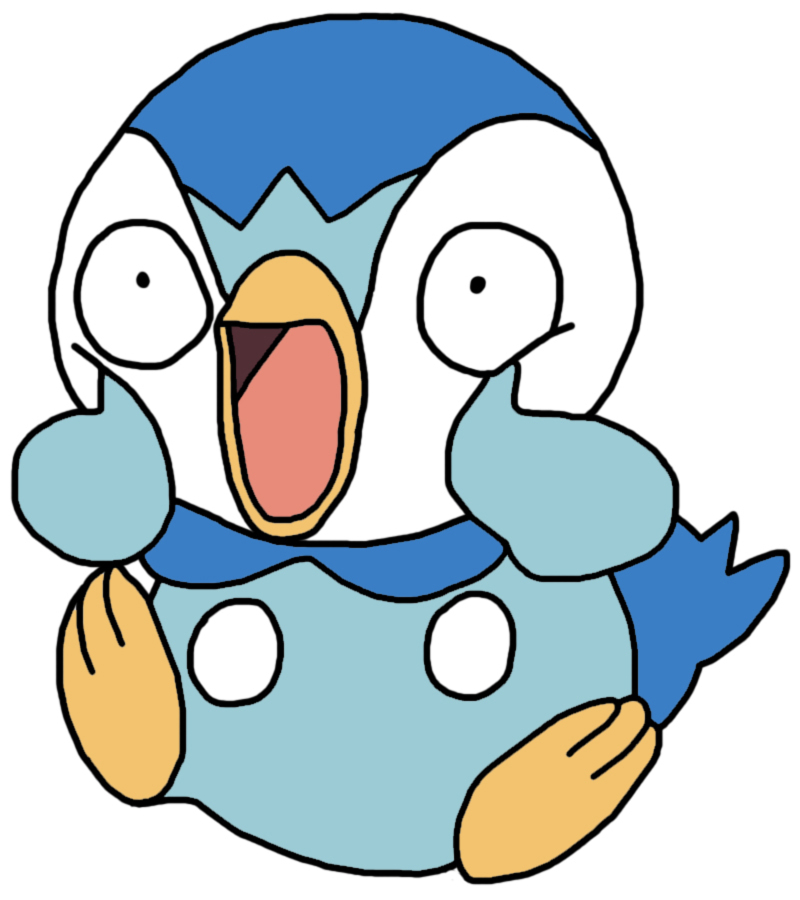 Piplup Funny by GEORDINHO