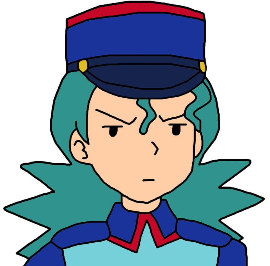 Officer Jenny Is Not Amused by GEORDINHO