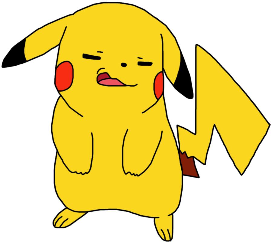 Derpy Pikachu by GEORDINHO