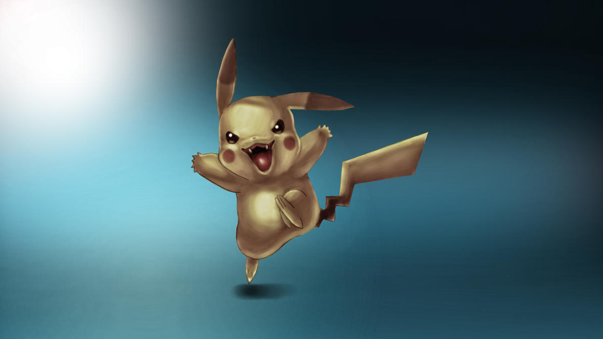 Evil Pikachu by LeoVieirah on DeviantArt