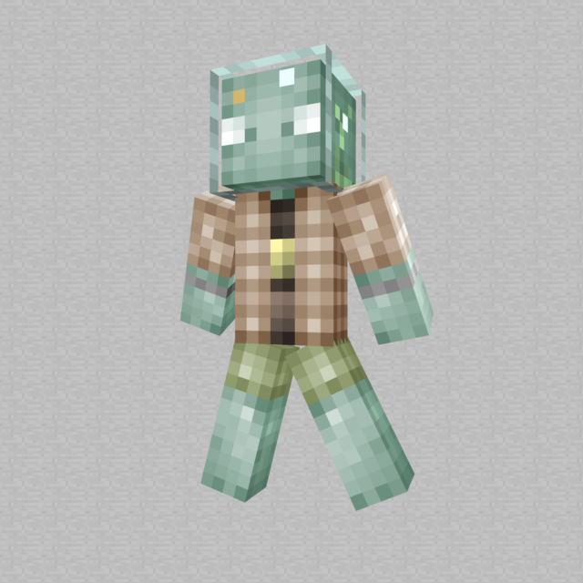 A man made of water minecraft skin by hunterk77 on for Minecraft fish skin