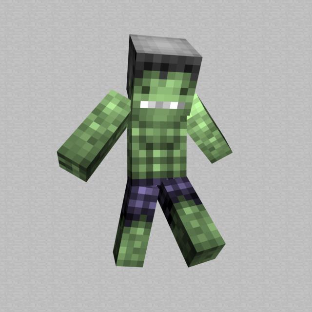 The Incredible Hulk / Minecraft Skin by hunterk77 on ...