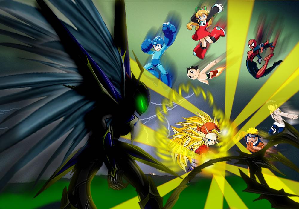 Heros Teens Anime vs ? by mayozilla