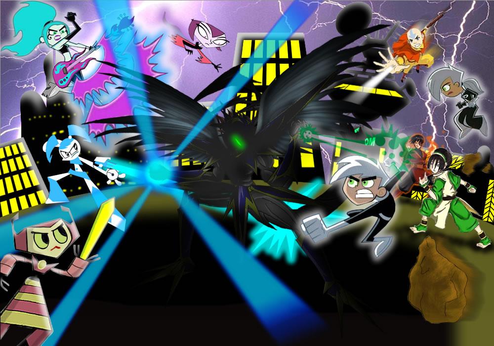 Heros Teens NICK vs ? by mayozilla
