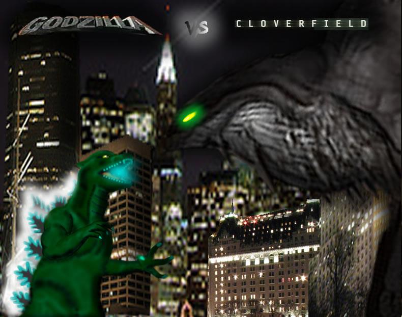 Cloverfield Vs Kaiju