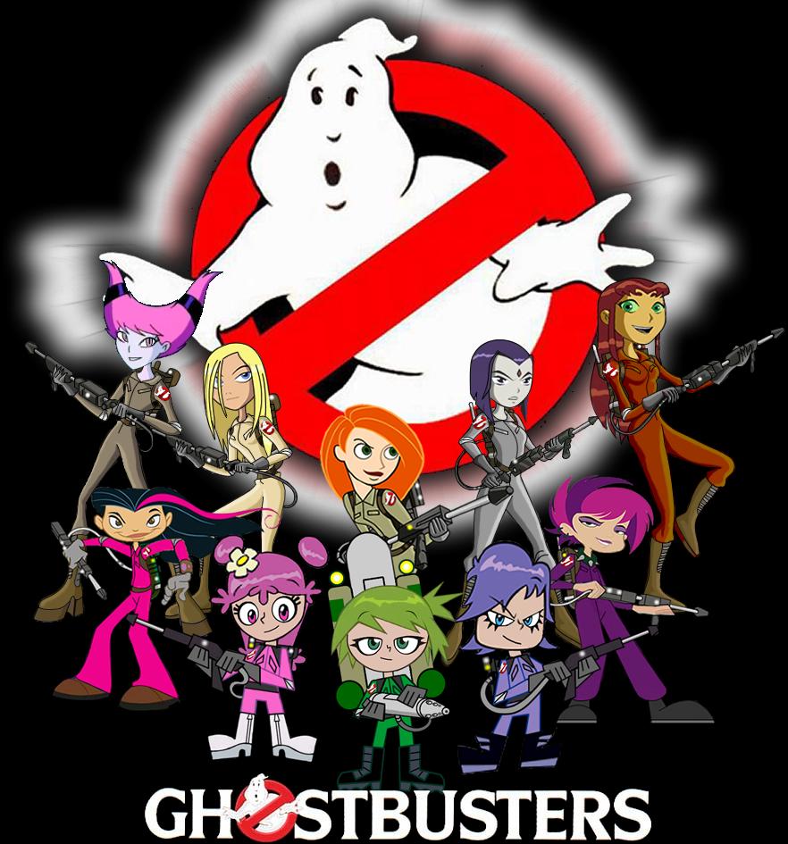 My girls ghostbusters team by mayozilla