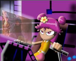 AMI in robot VS GODZILLA by mayozilla