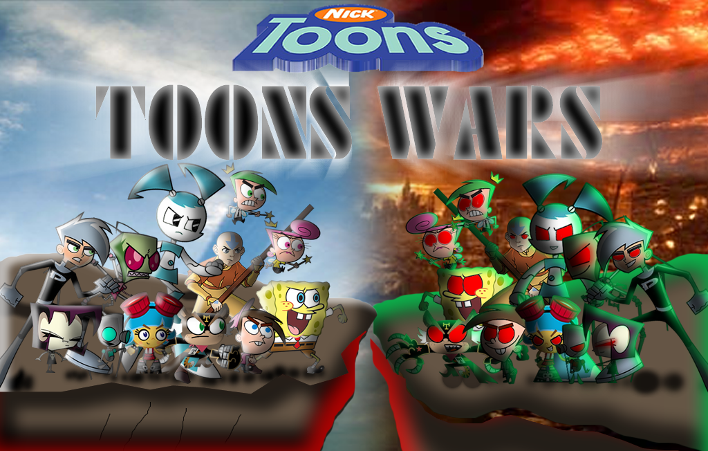 NICK TOONS WARS Final Confront by mayozilla on DeviantArt