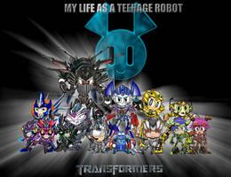 MY LIFE A TEENAGE TRANSFORMERS by mayozilla
