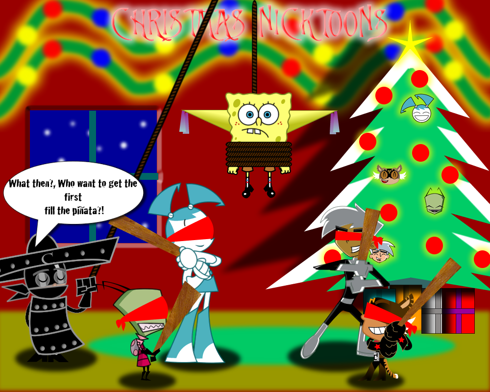 NICKTOONS CHRISTMAS 2010-2011 by mayozilla
