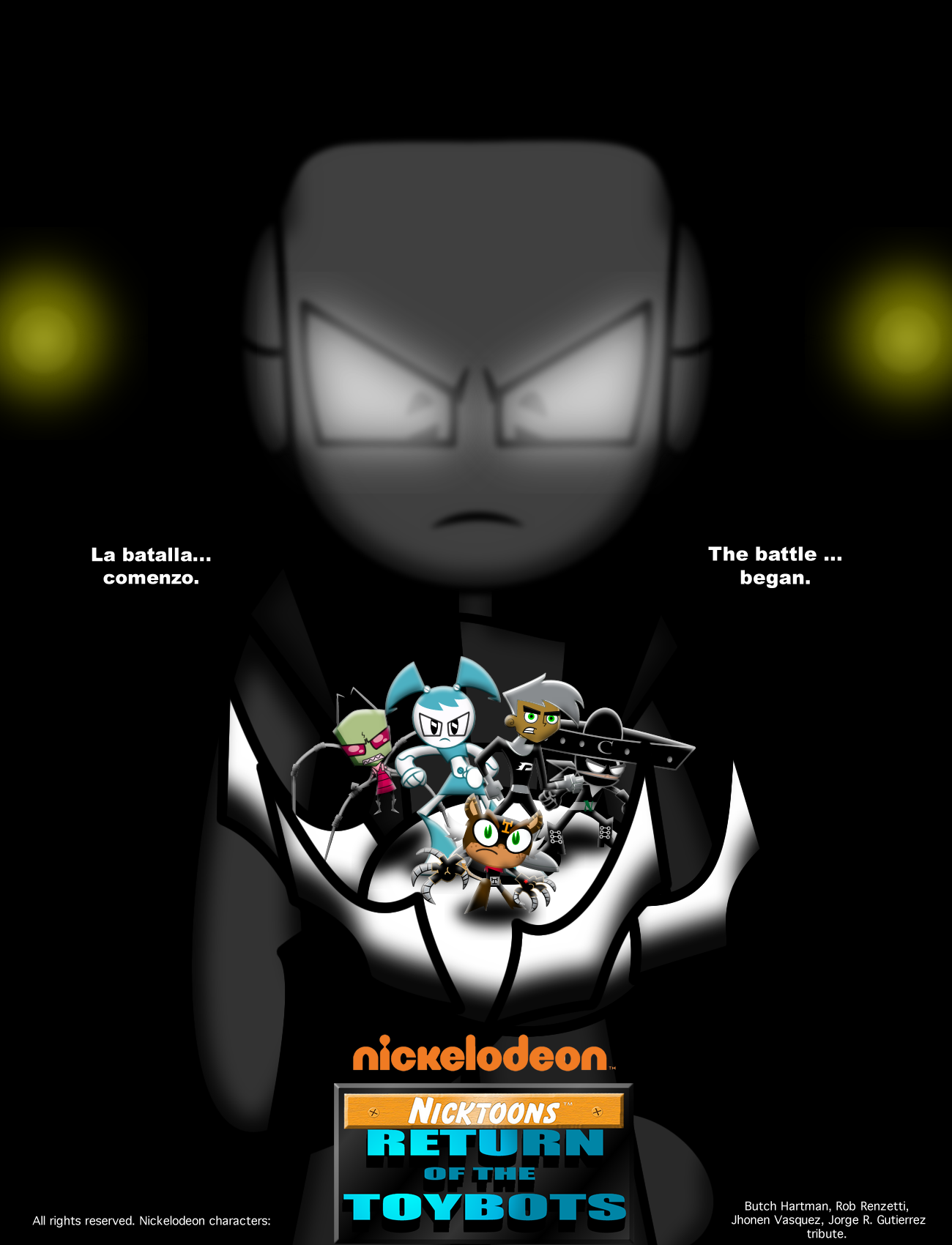 Nicktoons Comic Poster 7 By Mayozilla On Deviantart