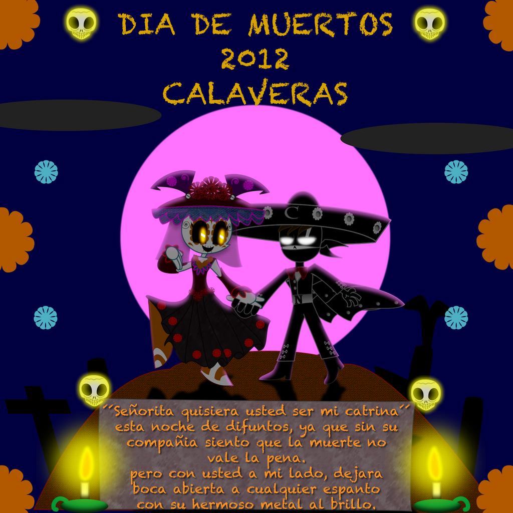 DIA DE MUERTOS 2012 calaverita by mayozilla