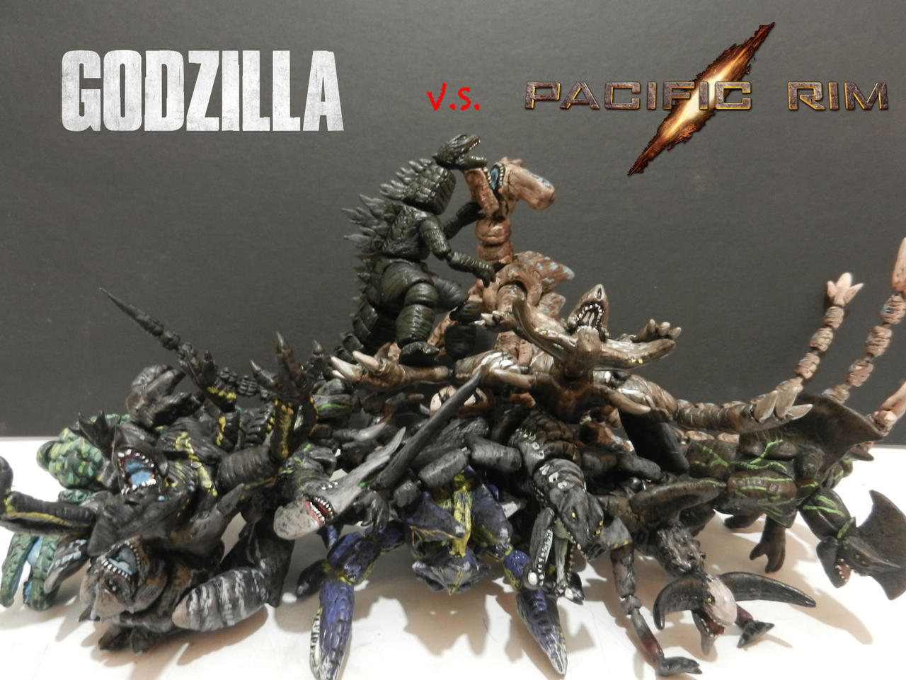 GODZILLA VS PACIFIC RIM KAIJUS 2 by mayozillaPacific Rim Vs Godzilla