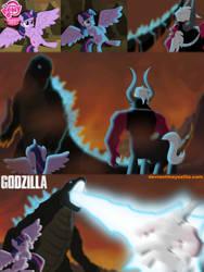 Godzilla save twilight by mayozilla