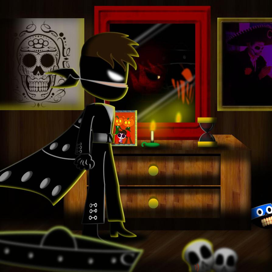 Sombra en la oscuridad by mayozilla