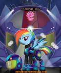 Rainbow dash defense anti-kaiju forces