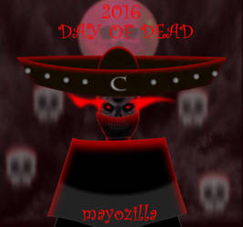 day of dead 2016 by mayozilla